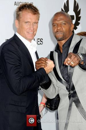 Dolph Lundgren and Terry Crews