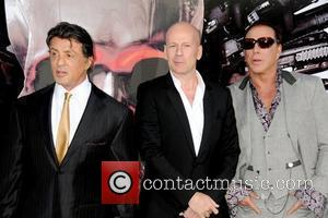 Sylvester Stallone and Bruce Willis