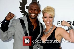 Terry Crews and Rebecca Crews Los Angeles Premiere of 'The Expendables' held at Grauman's Chinese Theatre - Arrivals Los Angeles,...