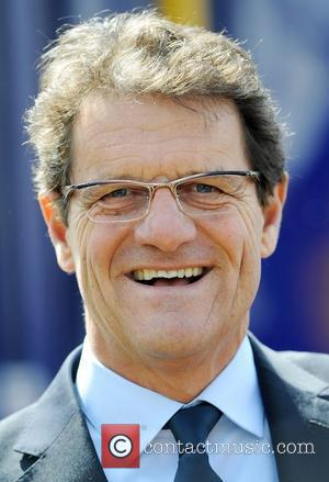 Fabio Capello At England 2018 World Cup Bid Book Launch At Wembley Stadium