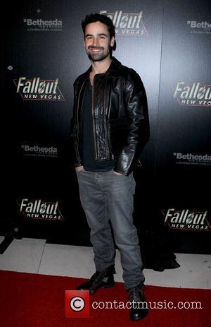 Jesse Bradford Hollywood Celebrities attend the launch of Fallout New Vegas at Rain Nightclub at The Palms Hotel Casino...