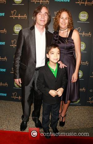 Jackson Browne, and his wife, Ethan Borthnick   at the We Are Family 8th Annual Celebration Gala at the...