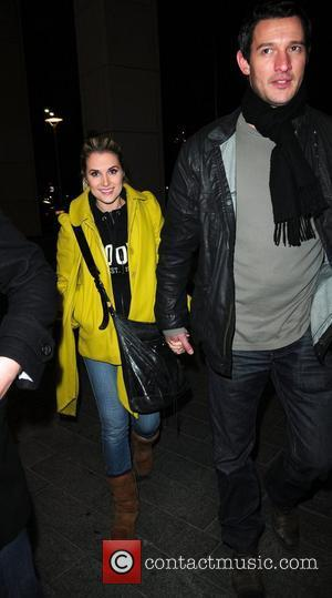 Sarah Jayne Dunn,  returns to a hotel after filming Channel 4's live high-risk reality show, 'Famous and Fearless' at...