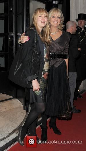 Twiggy British Fashion Awards 2010 - Departures London, England - 07.12.10