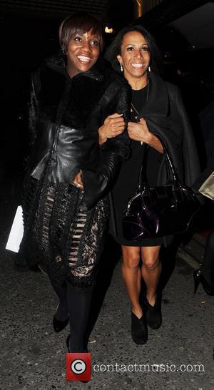 Dame Kelly Holmes British Fashion Awards 2010 - Departures London, England - 07.12.10