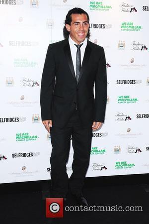 Carlos Tevez Fashion Kicks 2010 held at the Lancashire County Cricket Ground Manchester, England - 13.04.10