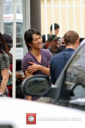 Sung Kang on the set of 'Fast Five' Rio Piedras, Puerto Rico - 14.07.10
