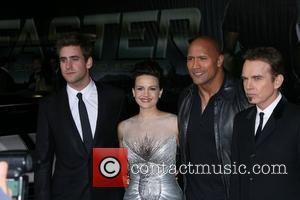 Oliver Jackson-cohen, Billy Bob Thornton, Carla Gugino and Dwayne Johnson
