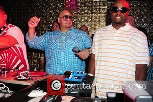 Fat Joe attends the Fat Joe album release party (The Darkside) at 400 at Club Lux in Miami Beach...