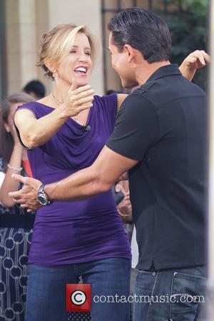 Felicity Huffman and Mario Lopez
