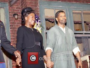 Viola Davis and Denzel Washington