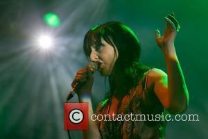 Maria de Medeiros and The Legendary Tigerman performing at Optimus Alive! 2010 at Passeio Maritimo de Alges - Day 3