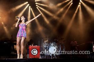 Jade Ewan of the Sugababes  Festival Sudoeste TMN at Herdade da Casa Branca in Zambujeira do Mar Zambujeira do...