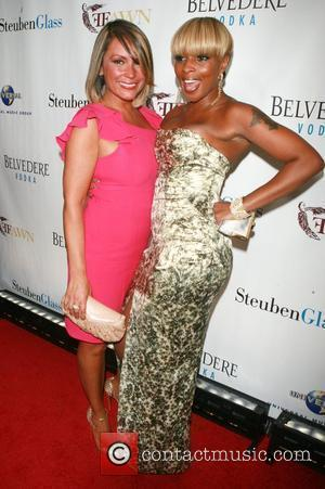 Angie Martinez, Mary J. Blige FFawn presents 'An Evening with Mary J. Blige and Friends' at Cipriani New York City,...