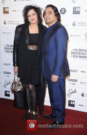 Meera Syal and Sanjeev Bhaskar The British Independent Film awards London, England - 06.12.09