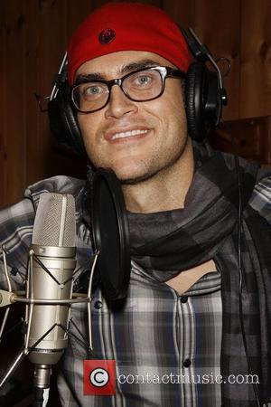 Cheyenne Jackson participates in a recording session with the 2009 Broadway cast of Finian's Rainbow at Avatar Studios  New...