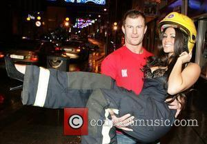 Casey Batchelor Launch of the Drogheda fire service charity 2010 calendar at earth night club Dublin, Ireland - 06.12.09