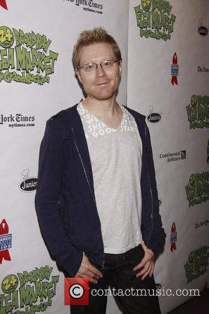Anthony Rapp The 24th Annual Broadway Cares/Equity Fights AIDS Flea Market and Grand Auction held in Shubert Alley New York...