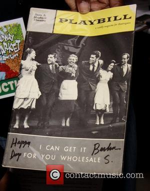 Playbill autographed by Barbra Streisand The 24th Annual Broadway Cares/Equity Fights AIDS Flea Market and Grand Auction held in Shubert...