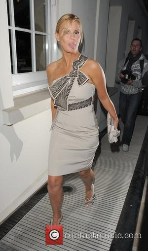 Kerry Katona, arriving at Lisa Byrne's 40th Birthday party, held at Flemings Mayfair Hotel London, England - 20.04.10