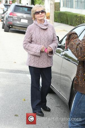 Florence Henderson out and about on Civic Center Drive Los Angeles, California - 05.03.10