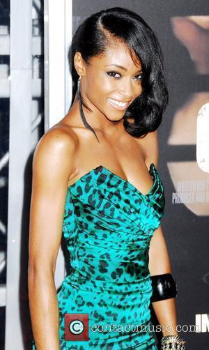 Yaya DaCosta  NYC movie premiere of 'For Colored Girls' at the Ziegfeld Theatre - Arrivals New York City, USA...