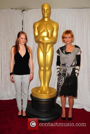 Leonie Benesch and Susanne Lothar The Academy Awards Foreign Language Film Award Directors Photo Op at the Kodak Theatre Los...