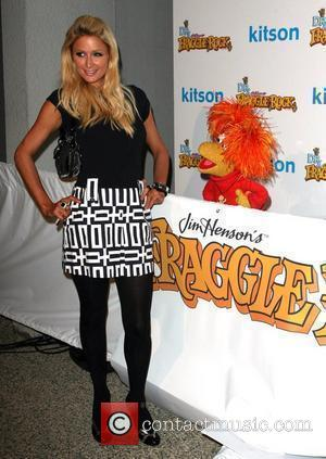 Paris Hilton The Dr. Romanelli Fraggle Rock Clothing Collaboration - A Toy Drive to Benefit the L.A. Mission at Kitson...