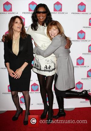 Natalie Cole and Frances Fisher