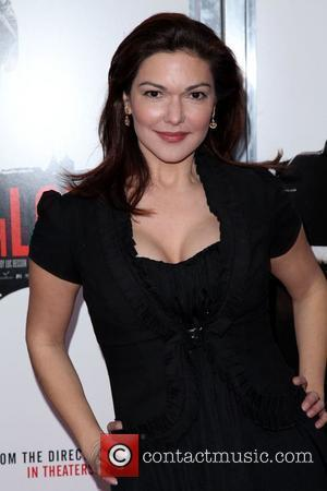 Laura Harring  'From Paris With Love' premiere held at the Ziegfeld Theatre - Arrivals  New York City, USA...