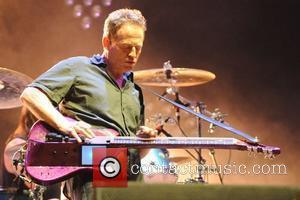 John Paul Jones of Them Crooked Vultures performing at the 2010 Fuji Rock Festival in Japan Niigata, Japan - 31.07.10