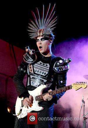 Luke Steele Empire Of The Sun performing live at the Future Music Festival Adelaide, Australia - 08.03.10