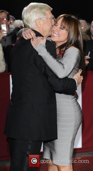 Michael Parkinson and Carol Vorderman at Galaxy National Book Awards at BBC Television Centre, London, England- 10.11.10