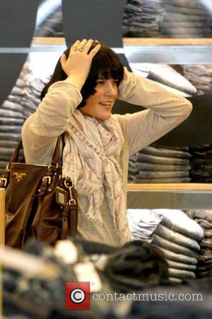 Selma Blair shopping at Gap 1969 Jeans on Robertson Boulevard Los Angeles, California - 24.02.10