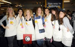 Kelly Hoppen, Melanie Blatt, Trinny Woodall and Yasmin Le Bon