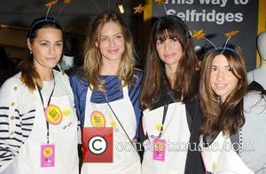 Yasmin Le Bon, Melanie Blatt and Trinny Woodall