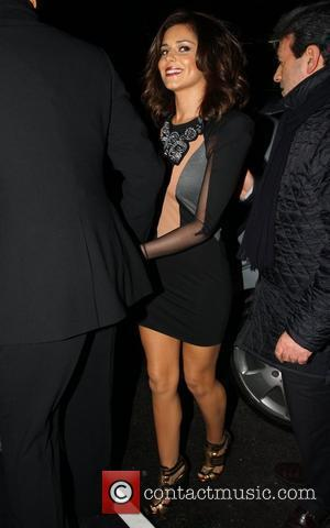 Cheryl Cole The 10th wedding anniversary celebration of Dawn and Gary Barlow at Mandarin Oriental Hyde Park - Outside Arrivals...
