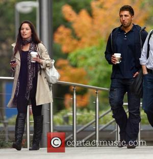 Gavin Henson and 'Strictly Come Dancing' partner Katya Virshilas grabbing a coffee before rehearsals London, England - 27.09.10