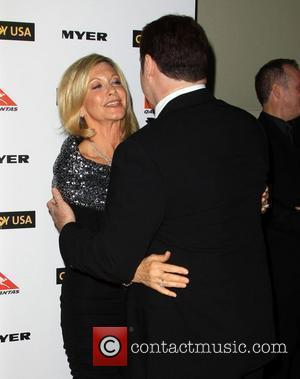 Olivia Newton-john and John Travolta