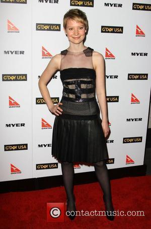 Mia Wasikowska G'Day USA 2010 Black Tie Gala at the Hollywood & Highland Centre - Arrivals Hollywood, California - 16.01.10