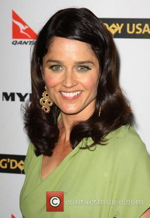 Robin Tunney G'Day USA 2010 Black Tie Gala at the Hollywood & Highland Centre - Arrivals Hollywood, California - 16.01.10
