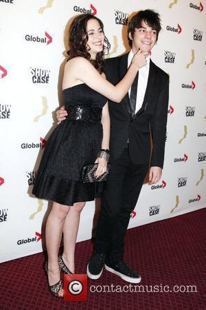 Holly Deveau and Devon Bostick  The 25th Gemini Awards at the Winter Garden Theatre - arrivals Toronto, Canada -...