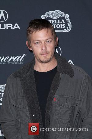 Norman Reedus Gen Art Film Festival screening of 'Mercy' held at The Visual Arts Theatre - Arrivals New York City,...