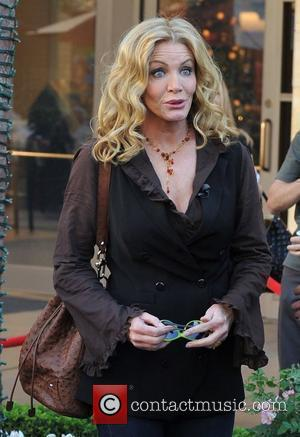Shannon Tweed  arrives for the Extra TV show interview at The Grove Los Angeles, Calfornia, USA - 30.11.10