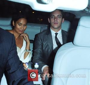 Jonathan Rhys Meyers and Reena Hammer  leaving The George Club London, England - 08.09.10