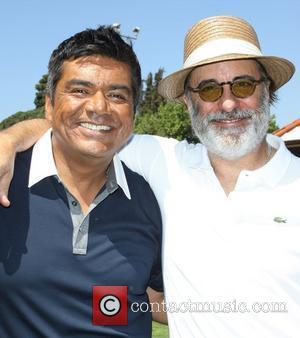 George Lopez and Andy Garcia