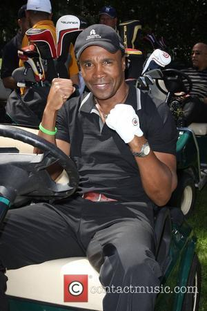 Sugar Ray Leonard Launch of the Ann and George Lopez Foundation at the 3rd Annual George Lopez Celebrity Golf Classic...