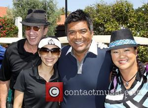 Tim Allen, Aimee Garcia, George Lopez and Christina Kim Launch of the Ann and George Lopez Foundation at the 3rd...