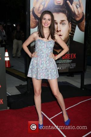 Alison Brie Los Angeles Premiere of 'Get Him To The Greek' held at The Greek Theatre Los Angeles, California -...
