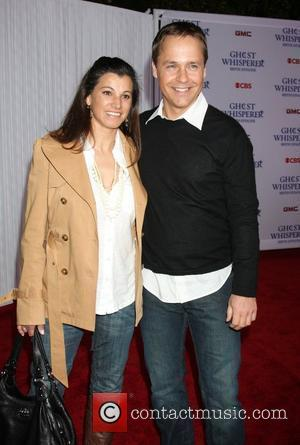 Chad Lowe and fiancee Kim Painer Party for the 100th episode of the 'Ghost Whisperer' held at Club XIV....